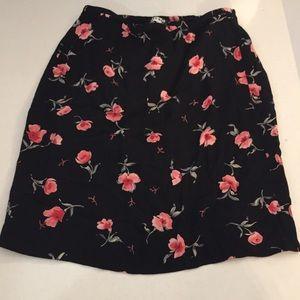 Floral beautiful skirt
